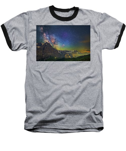 Burning Skies Baseball T-Shirt