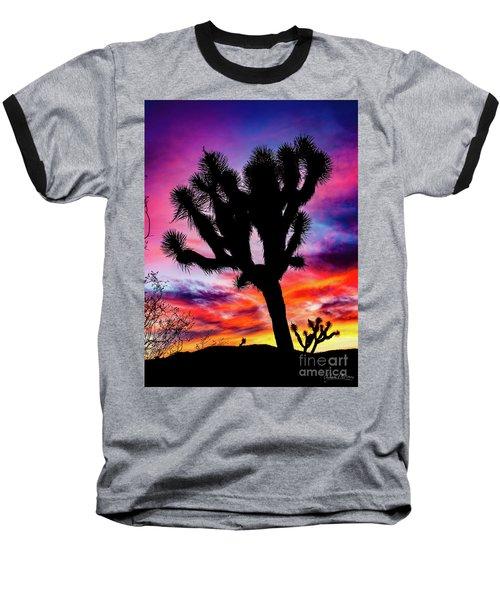Burning Sky Baseball T-Shirt