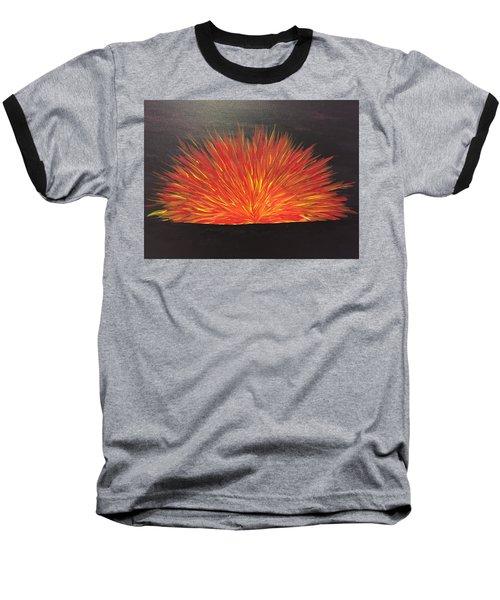 Burning Sun Baseball T-Shirt