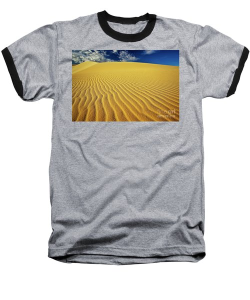 Burning Up At The White Sand Dunes - Mui Ne, Vietnam, Southeast Asia Baseball T-Shirt