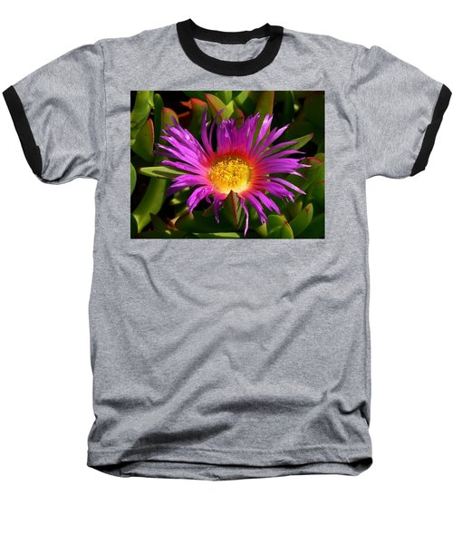 Baseball T-Shirt featuring the photograph Burst Of Beauty by Debbie Karnes