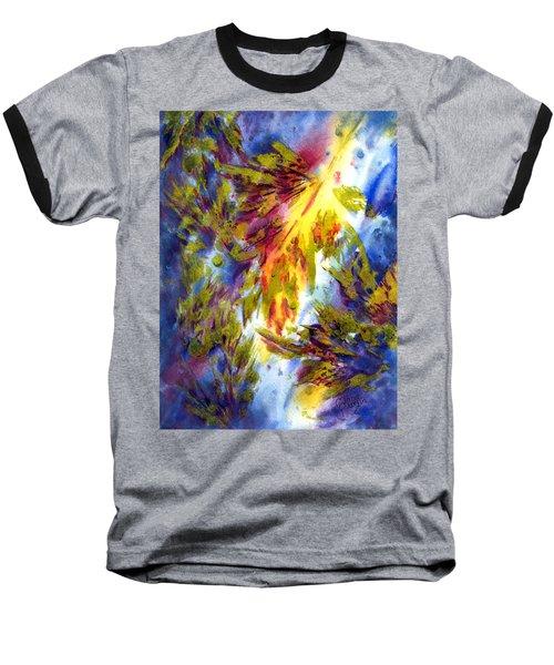 Burst Of Fall Baseball T-Shirt