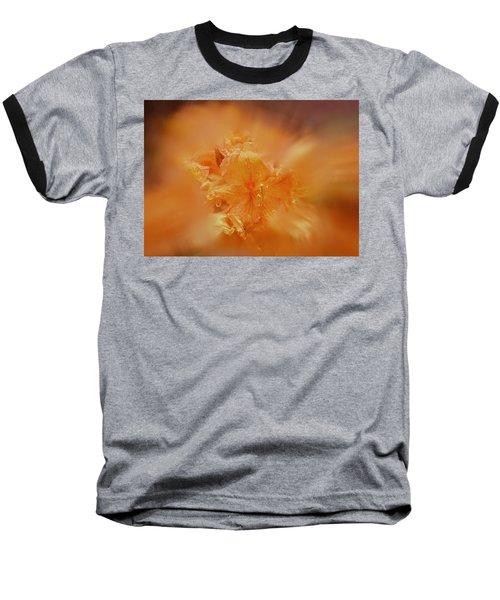 Burst Of Gold Baseball T-Shirt by Richard Cummings