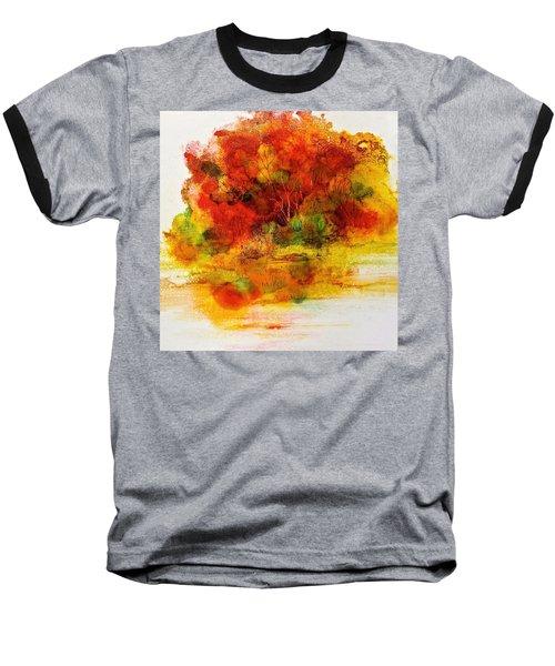 Burst Of Nature IIi Baseball T-Shirt by Carolyn Rosenberger