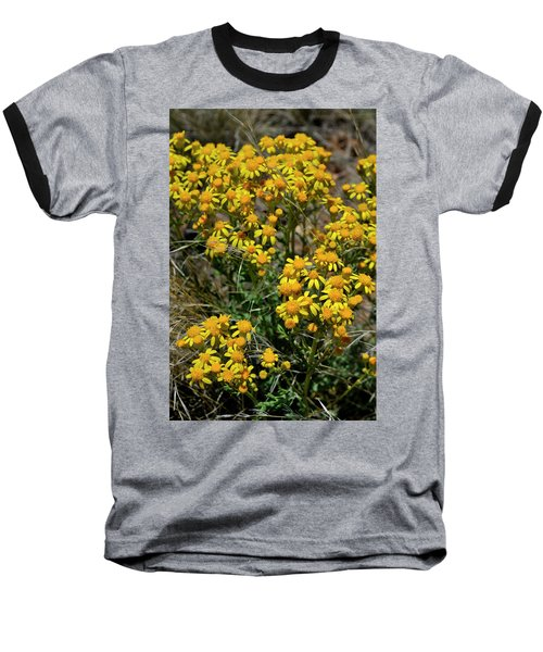 Burst Of Yellow Baseball T-Shirt