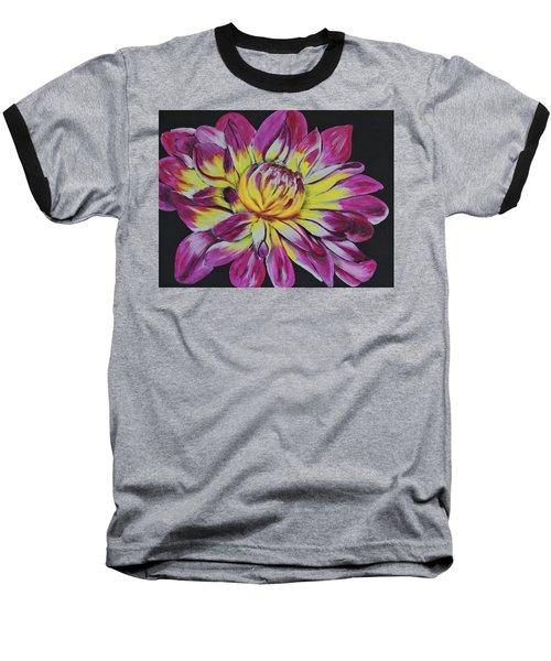 Bursting Bloom Baseball T-Shirt