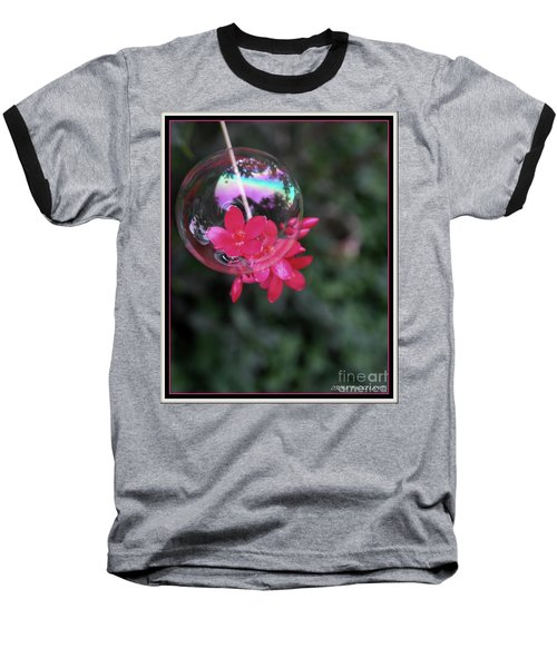 Bursting Free Baseball T-Shirt by Irma BACKELANT GALLERIES