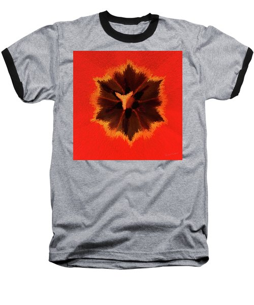 Baseball T-Shirt featuring the photograph Bursting by Terri Harper