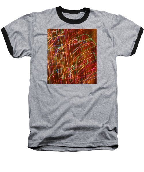 Baseball T-Shirt featuring the photograph Bursting With Colors by Ramona Whiteaker