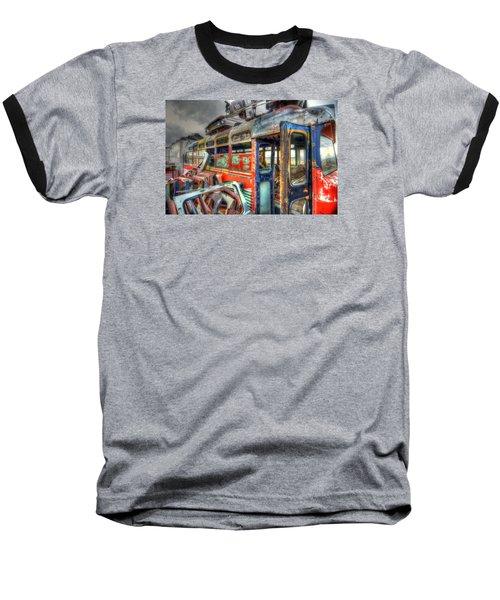 Bus Ride Baseball T-Shirt
