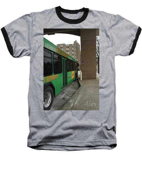 Bus Stop Baseball T-Shirt