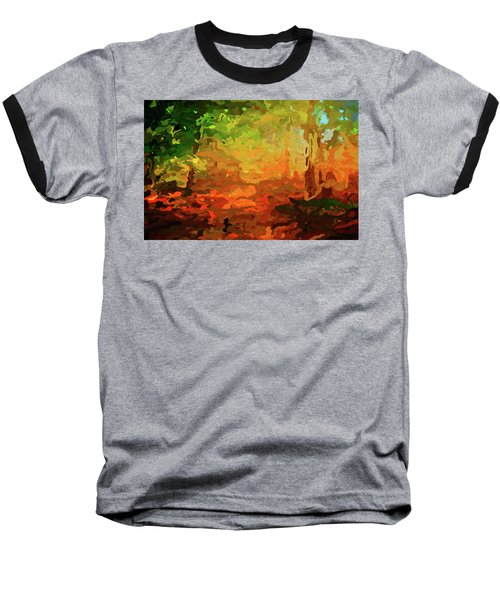 Bush Fire Baseball T-Shirt