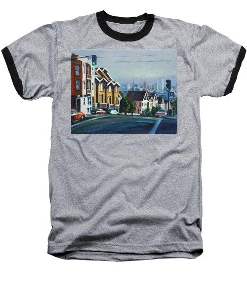 Bush Street Baseball T-Shirt by Rick Nederlof