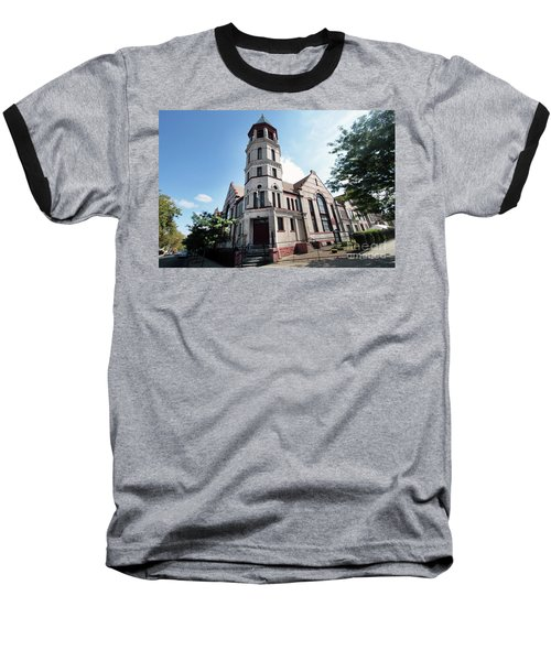 Bushwick Avenue Central Methodist Episcopal Church Baseball T-Shirt