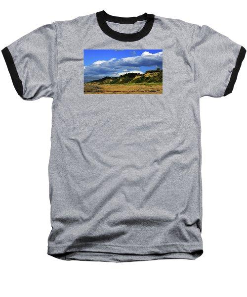 Baseball T-Shirt featuring the photograph Bushy Beach by Nareeta Martin