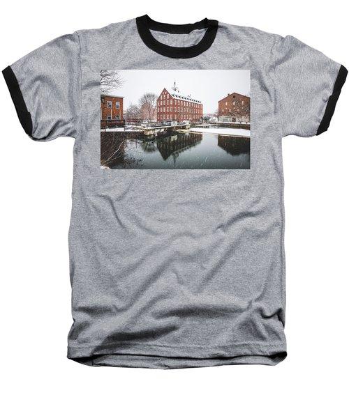Baseball T-Shirt featuring the photograph Busiel-seeburg Mill by Robert Clifford