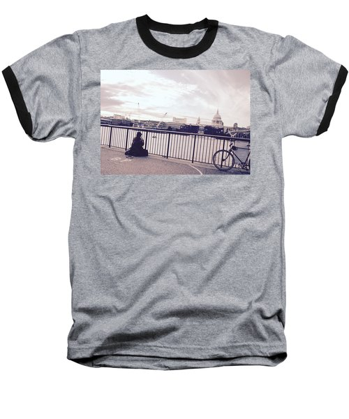 Busking Place Baseball T-Shirt