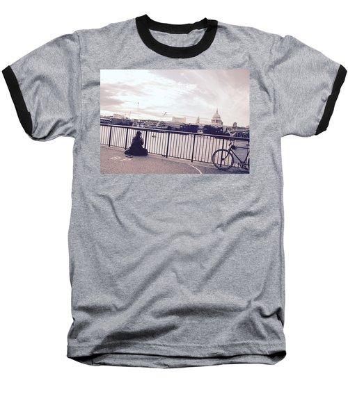 Busking Place Baseball T-Shirt