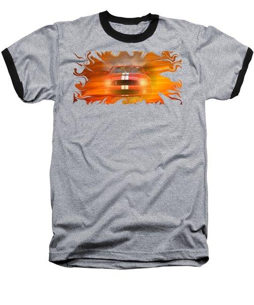 Bustin Thru Baseball T-Shirt by David and Lynn Keller