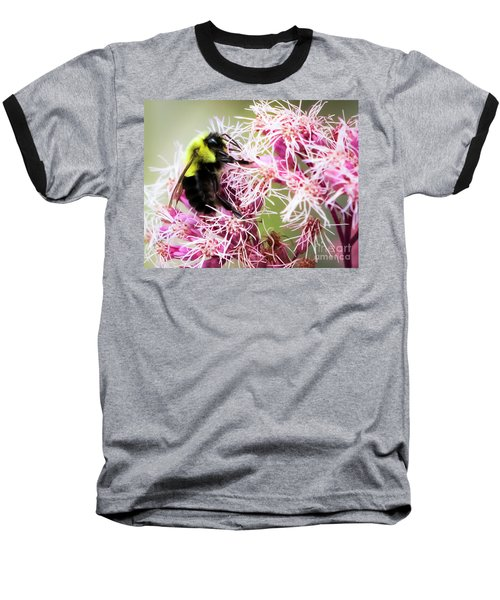 Baseball T-Shirt featuring the photograph Busy As A Bumblebee by Ricky L Jones
