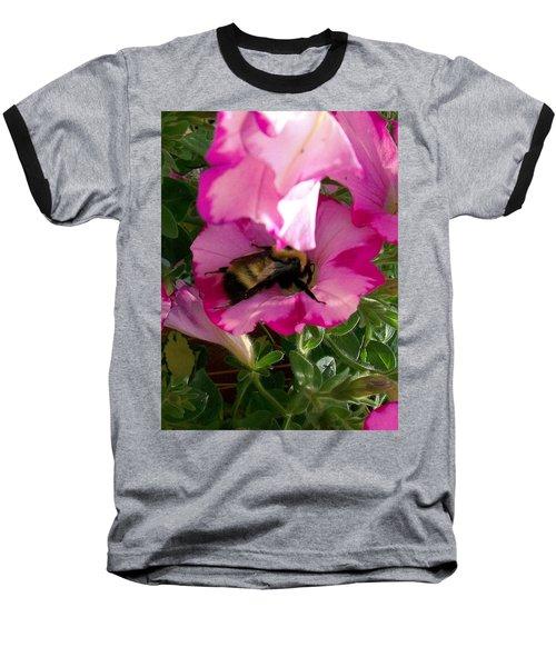 Busy Bumble Bee Baseball T-Shirt