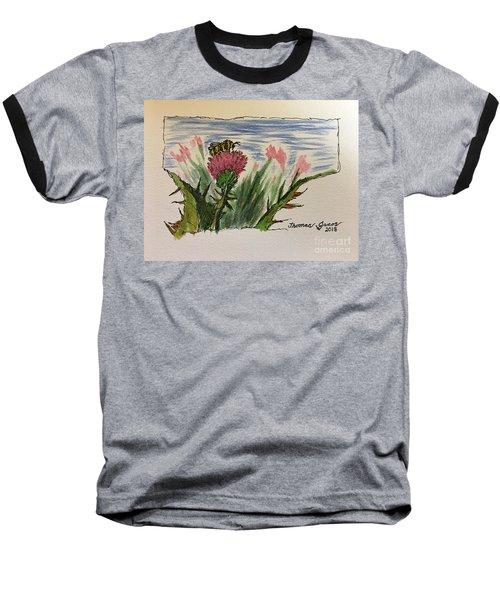 Busy Bumblebee  Baseball T-Shirt