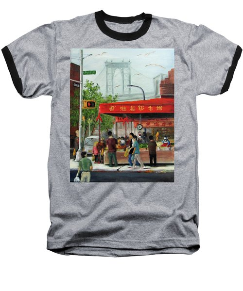 Busy Corner Baseball T-Shirt