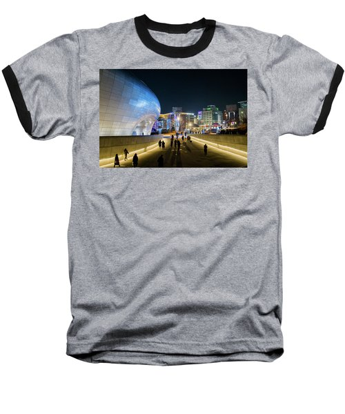 Busy Night Baseball T-Shirt