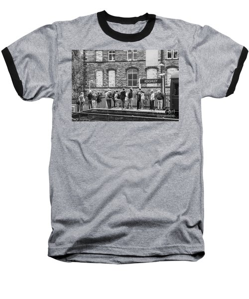 Busy Waiting Baseball T-Shirt