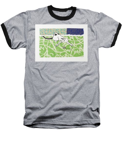 But We Were Just Starting To Have Fun Baseball T-Shirt by Leela Payne