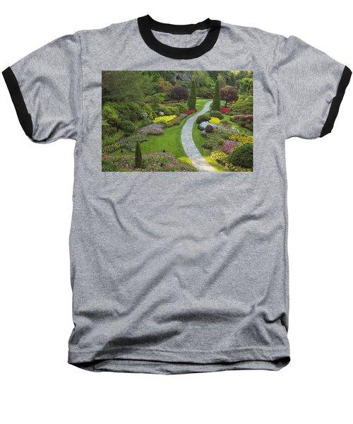 Butchart Gardens Baseball T-Shirt