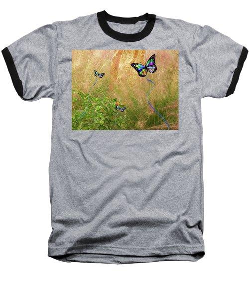 Buterflies Dream Baseball T-Shirt