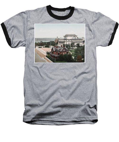 Butler Library At Columbia University Baseball T-Shirt