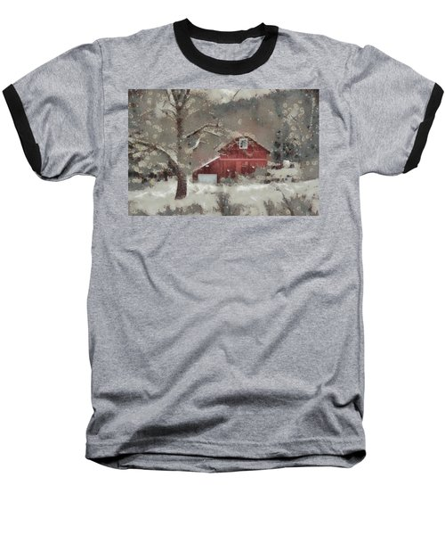 Baseball T-Shirt featuring the mixed media Butter Lane by Trish Tritz