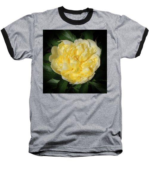 Buttercream Peony Baseball T-Shirt