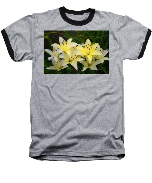 Baseball T-Shirt featuring the photograph Buttercreams by Kathryn Meyer