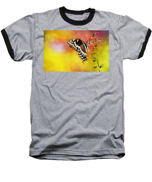 Butterflies Are Self Propelled Flowers Baseball T-Shirt