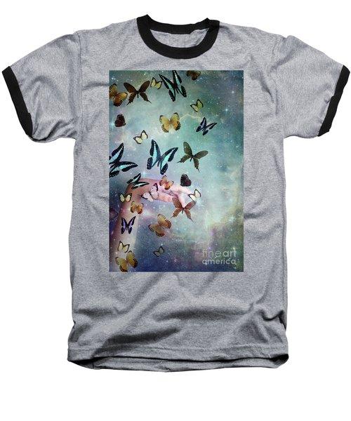 Butterflies Reborn Baseball T-Shirt