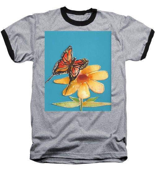 Butterflower Baseball T-Shirt