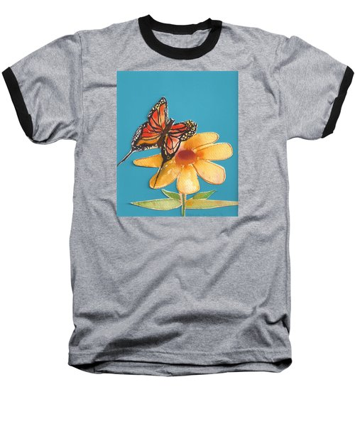 Butterflower Baseball T-Shirt
