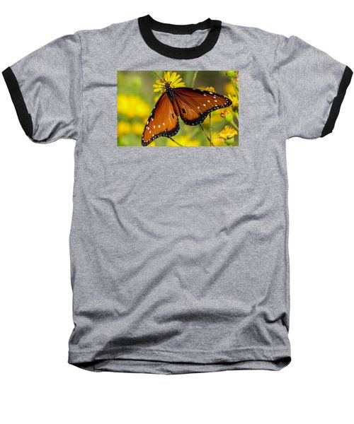 Butterfly 1 Baseball T-Shirt