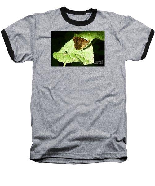Baseball T-Shirt featuring the photograph Butterfly 2 by Jean Bernard Roussilhe