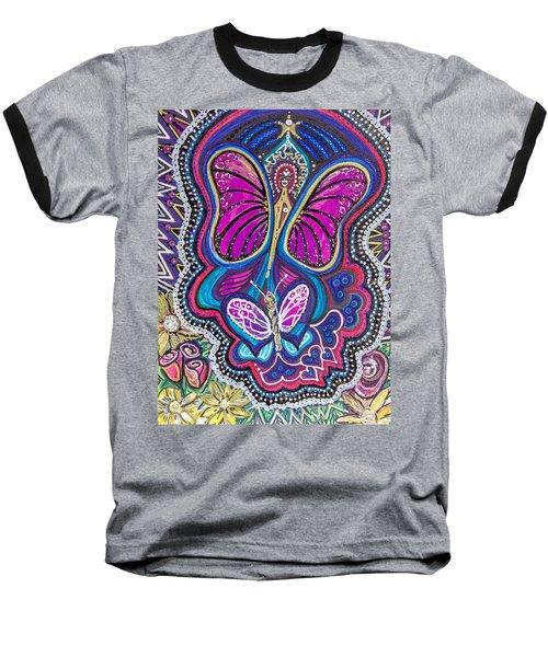 Butterfly Angels Baseball T-Shirt