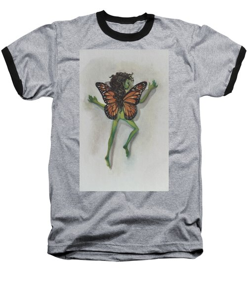 Butterfly Fairy Baseball T-Shirt