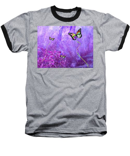 Butterfly Fantasy Baseball T-Shirt