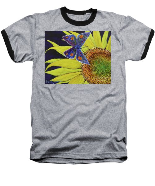 Butterfly Haven Baseball T-Shirt