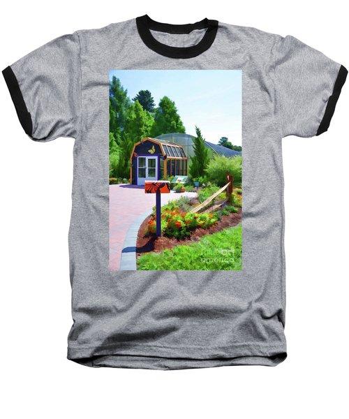 Butterfly House 1 Baseball T-Shirt