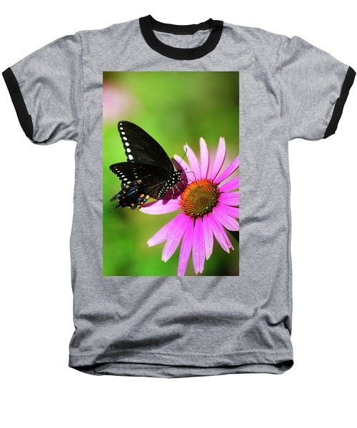 Butterfly In The Sun Baseball T-Shirt