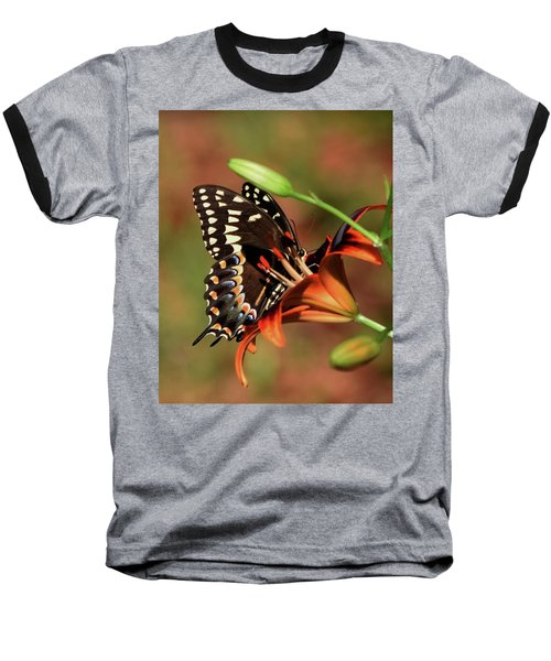 Butterfly Kiss 2 Baseball T-Shirt