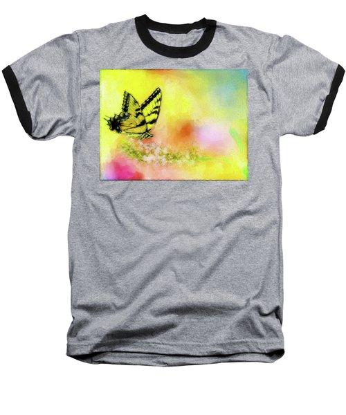 Butterfly Love Baseball T-Shirt